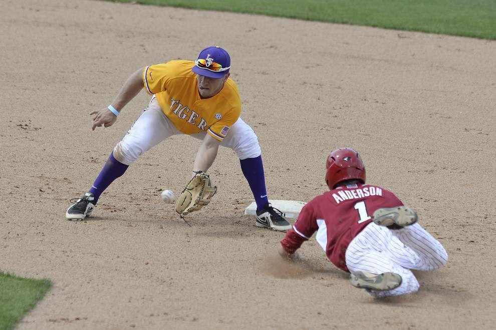 LSU baseball postgame: Arkansas defeats LSU 10-4 _lowres
