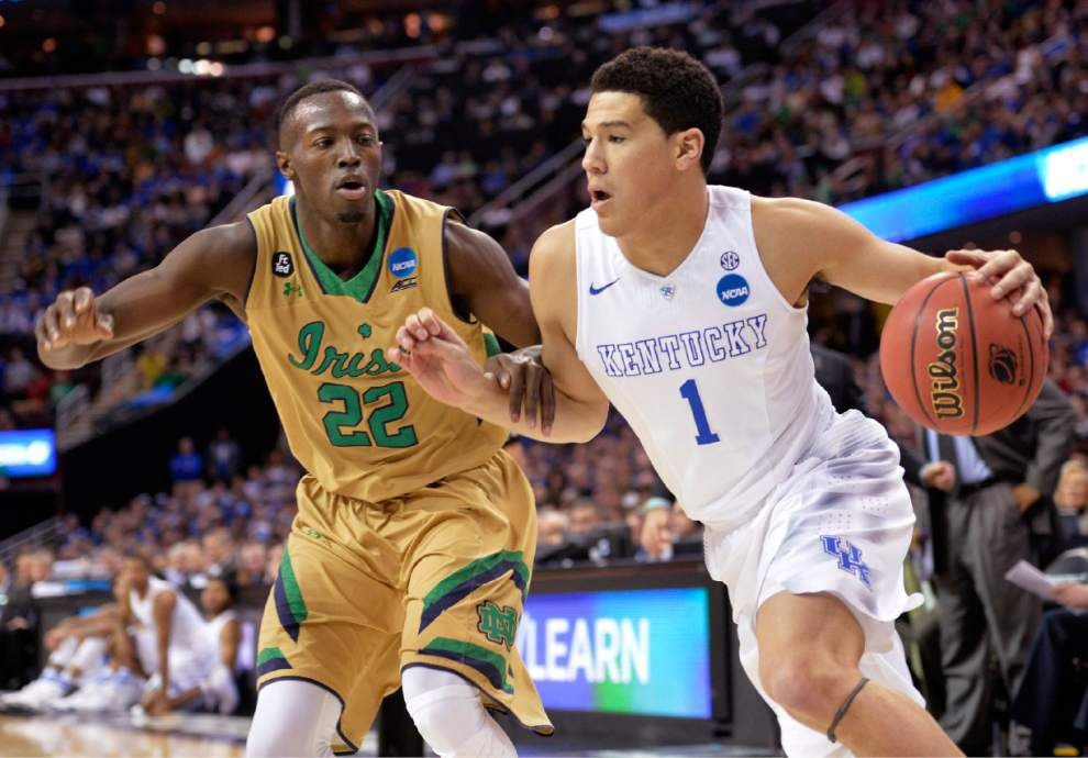 Kentucky survives challenge from Notre Dame, advances to Final Four with 68-66 victory _lowres