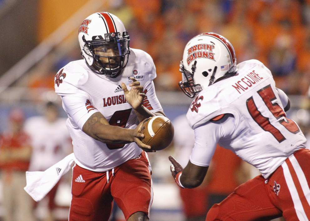 On three-game skid, Cajuns in unfamiliar territory _lowres
