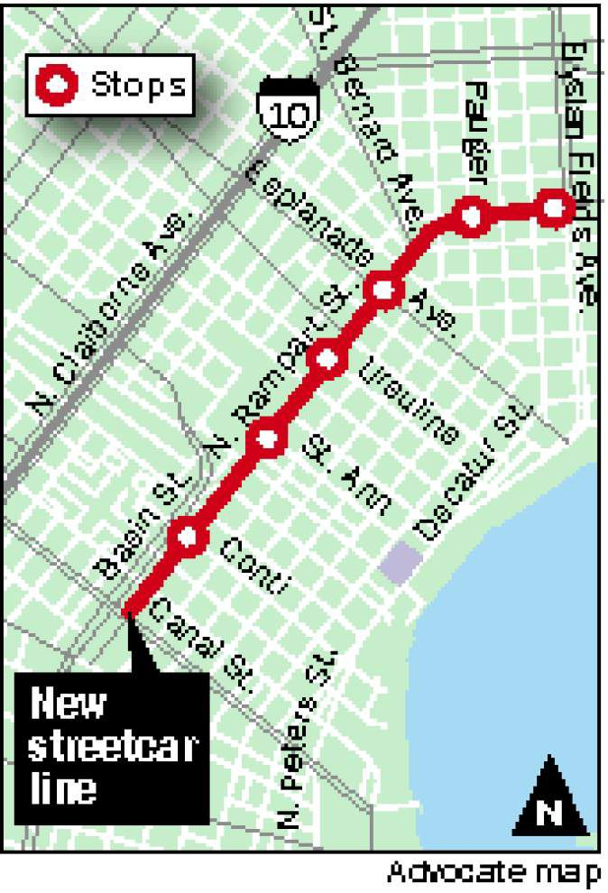 Rampart, St. Claude streetcar line work to begin _lowres