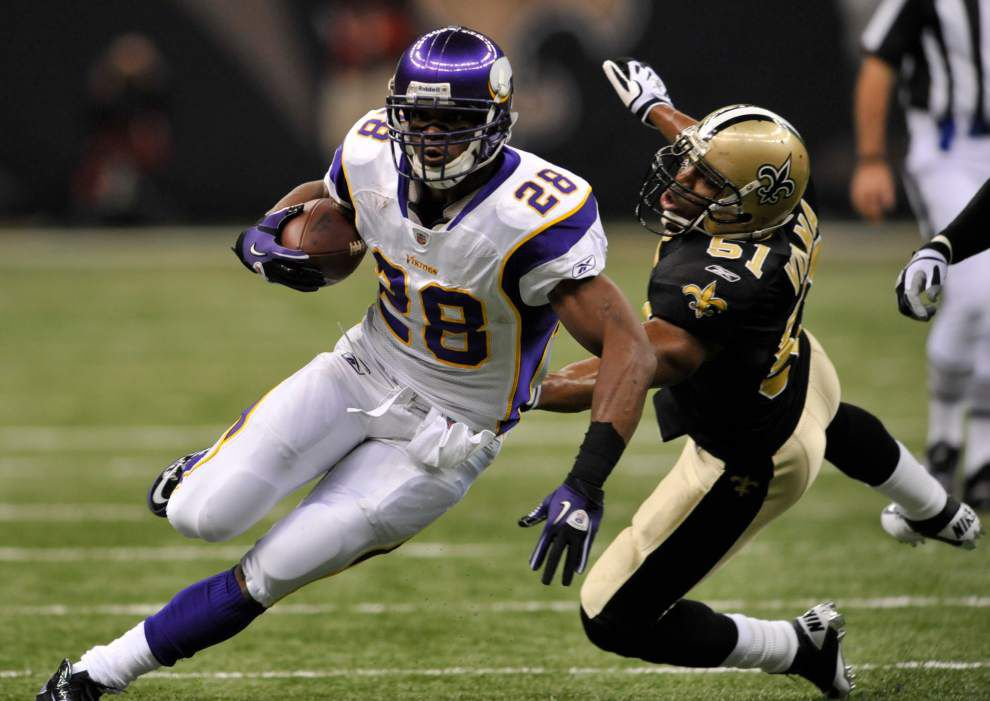 Vikings coach Mike Zimmer loves Adrian Peterson but says it's right he won't play at Saints or indefinitely _lowres