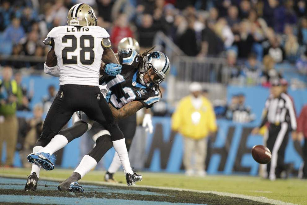 Saints film study: Keenan Lewis' breakout night highlights strong showing in win at Carolina _lowres