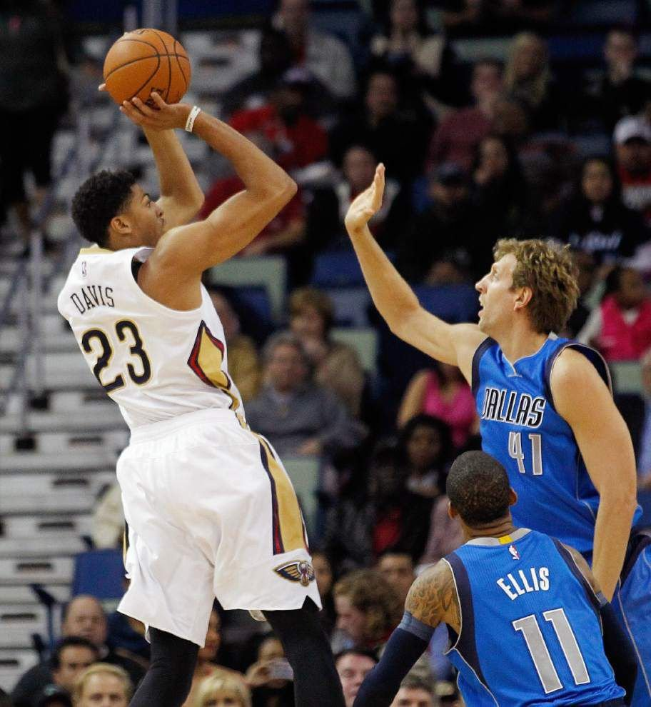 Video: Pelicans forward Anthony Davis encourged by team's play in second half against Mavericks _lowres