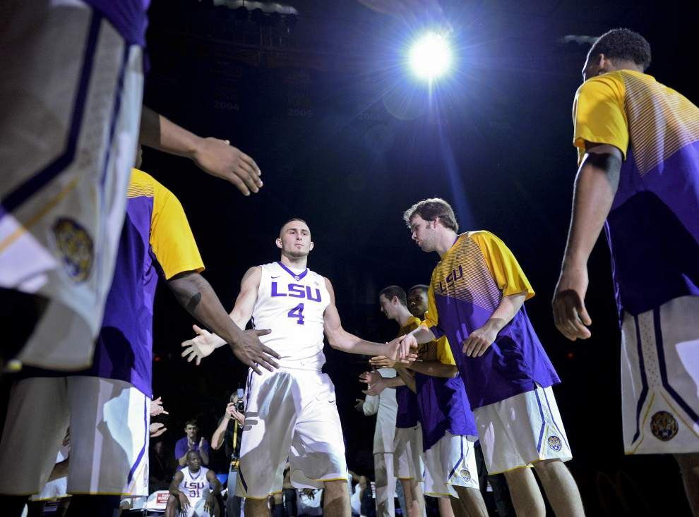Video: LSU guard Keith Hornsby says the Tigers won't overlook Missouri _lowres
