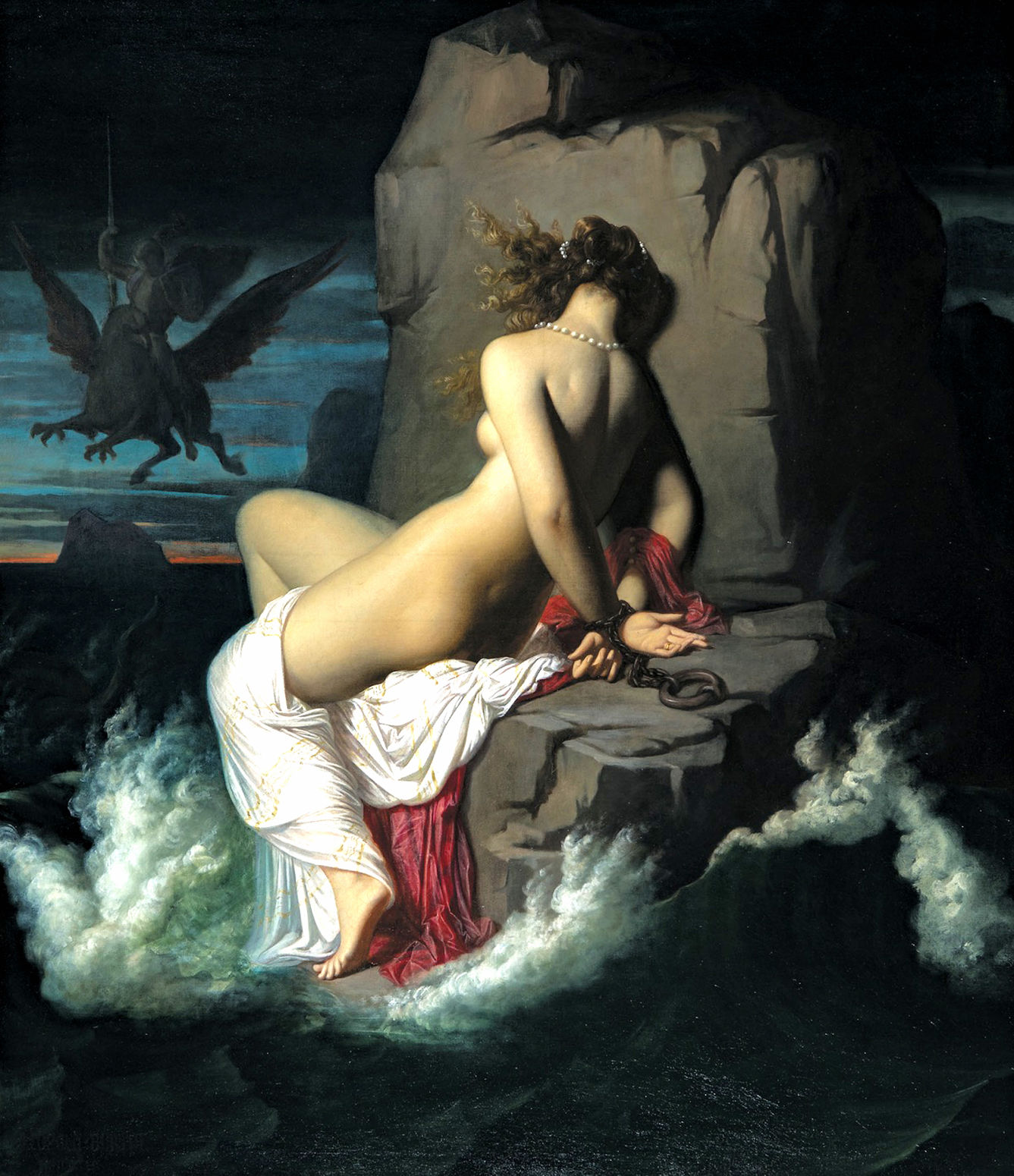 Leopold Burthe's painting infused with Ingres' influence 'Angelique' purchased by NOMA