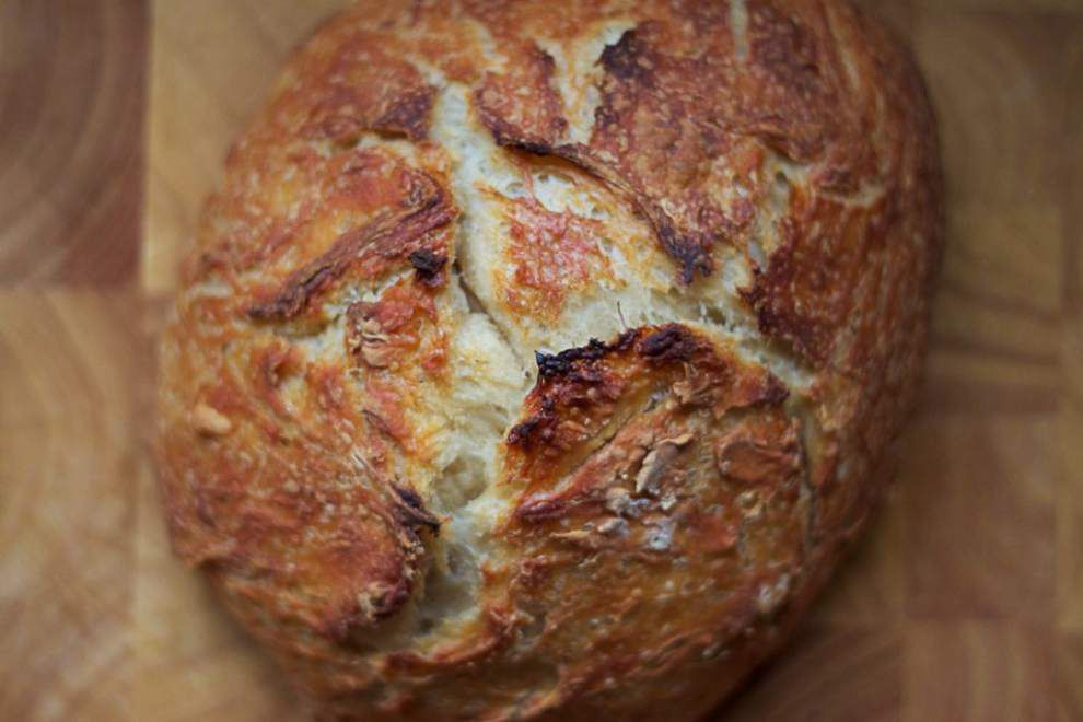 Fresh Ideas: Bake 'beautiful bread' at home with this no-knead method _lowres