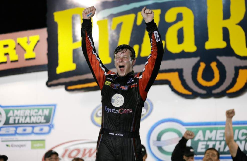 Erik Jones, at 18, set for NASCAR Nationwide debut _lowres