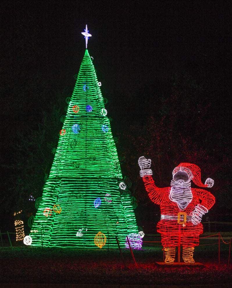 Photos: Lafreniere Park Christmas lights _lowres