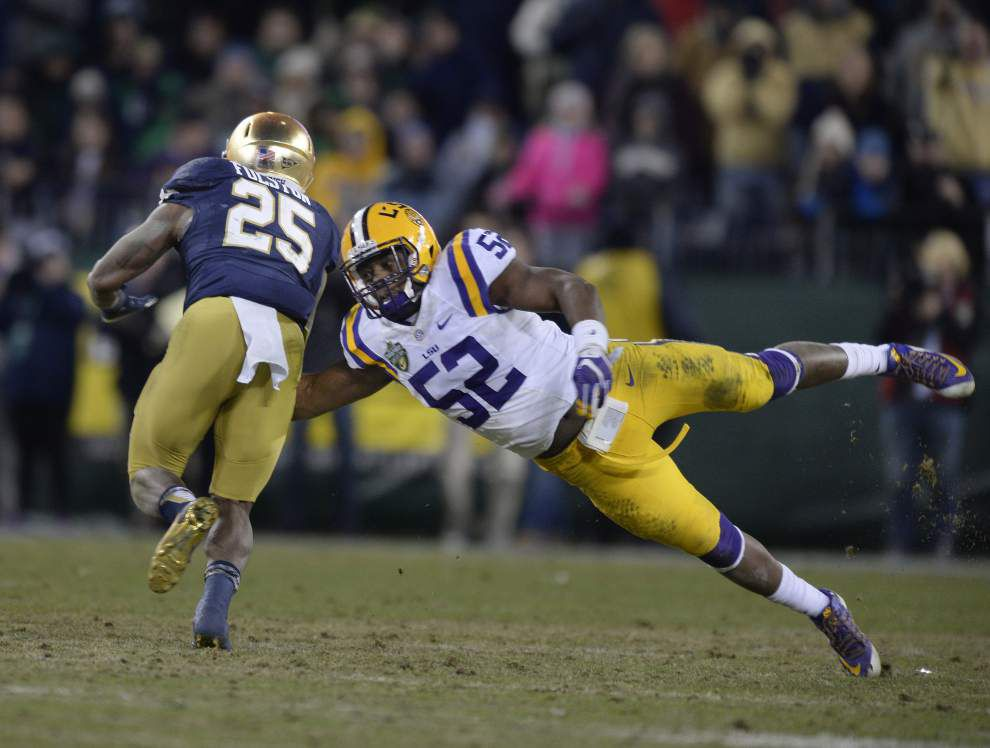 Tigers lose Music City Bowl 31-28 to Notre Dame — and may lose defensive coordinator John Chavis next _lowres