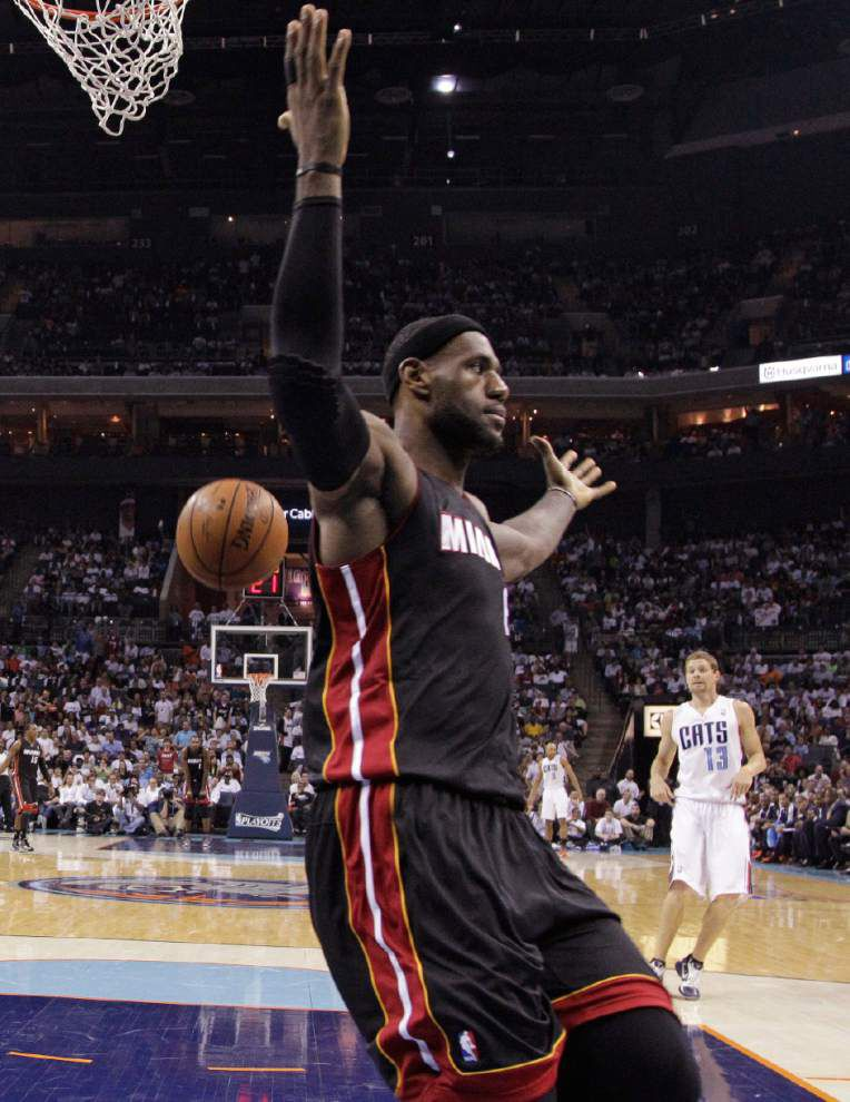 NBA playoffs: LeBron James, Heat complete sweep _lowres