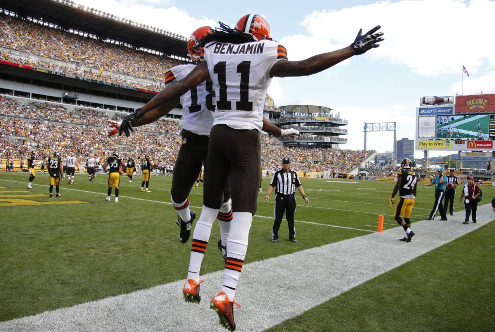 The Saints are prepared to face a hurry-up offense from the Cleveland Browns on Sunday _lowres