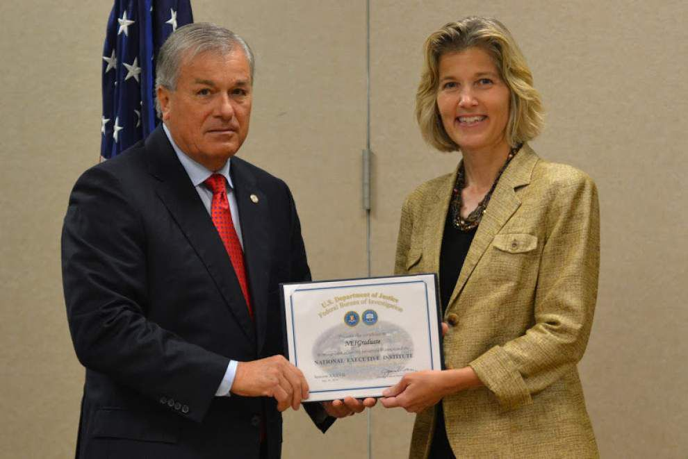EBR sheriff graduates from FBI executive training class _lowres