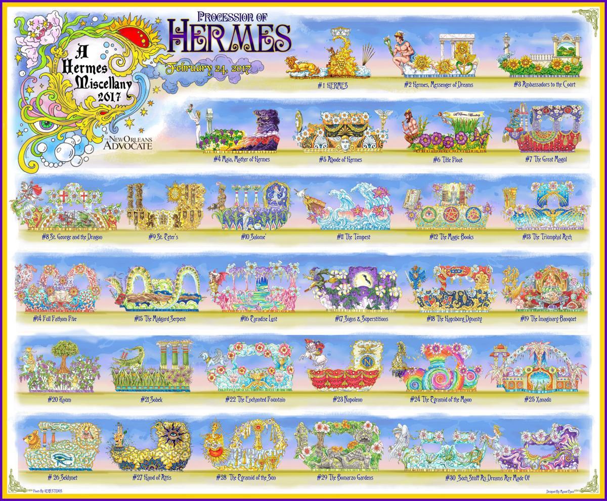 Hermes 2017 Sneak Peek At Parade Floats Youll See Friday Mardi