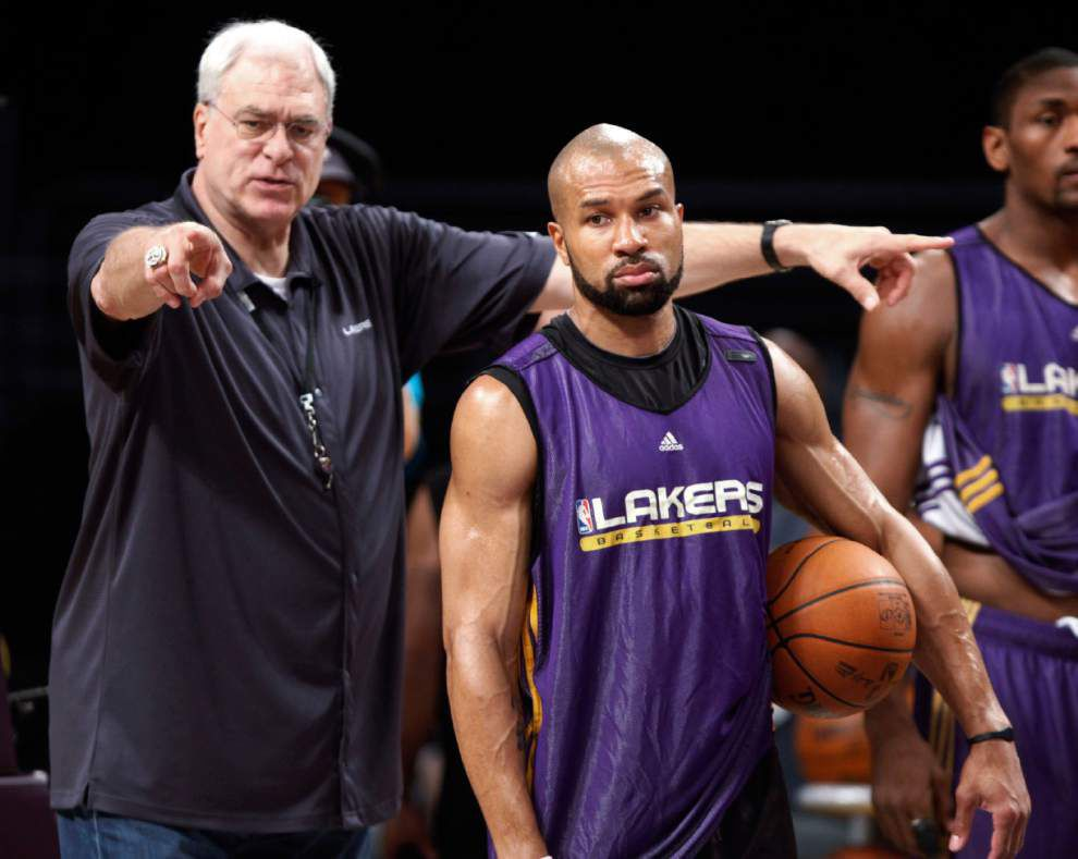 Source: Derek Fisher agrees to coach N.Y. Knicks _lowres