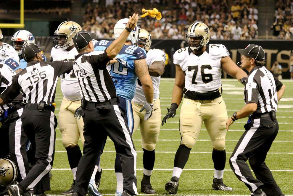 Saints camp report: Sean Payton continues to emphasize cutting down on penalties _lowres