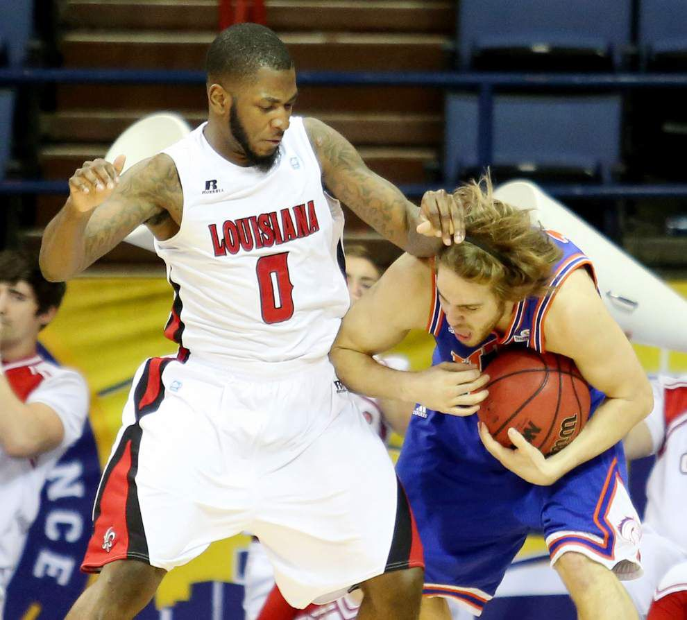 Shawn Long leads UL-Lafayette to Sun Belt semis _lowres