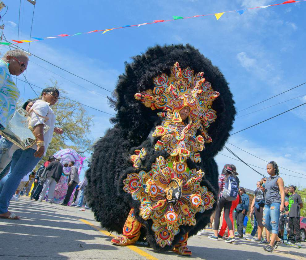 Photos: Super Sunday Mardi Gras Indian Big Chief _lowres