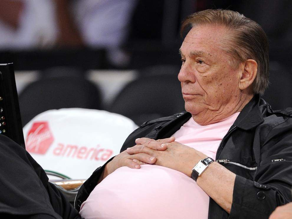 NBA bans L.A. Clippers owner Donald Sterling for life _lowres