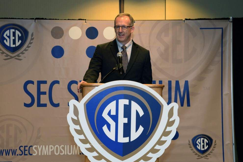 Greg Sankey's story: From 'grand experiment' to SEC chief _lowres