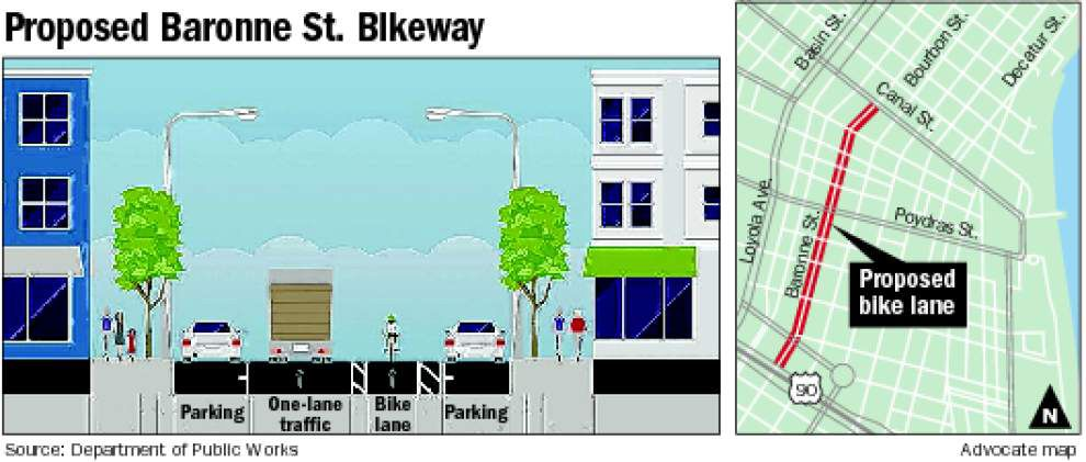 Bike lane on Baronne would cause major delays, traffic engineer warns _lowres