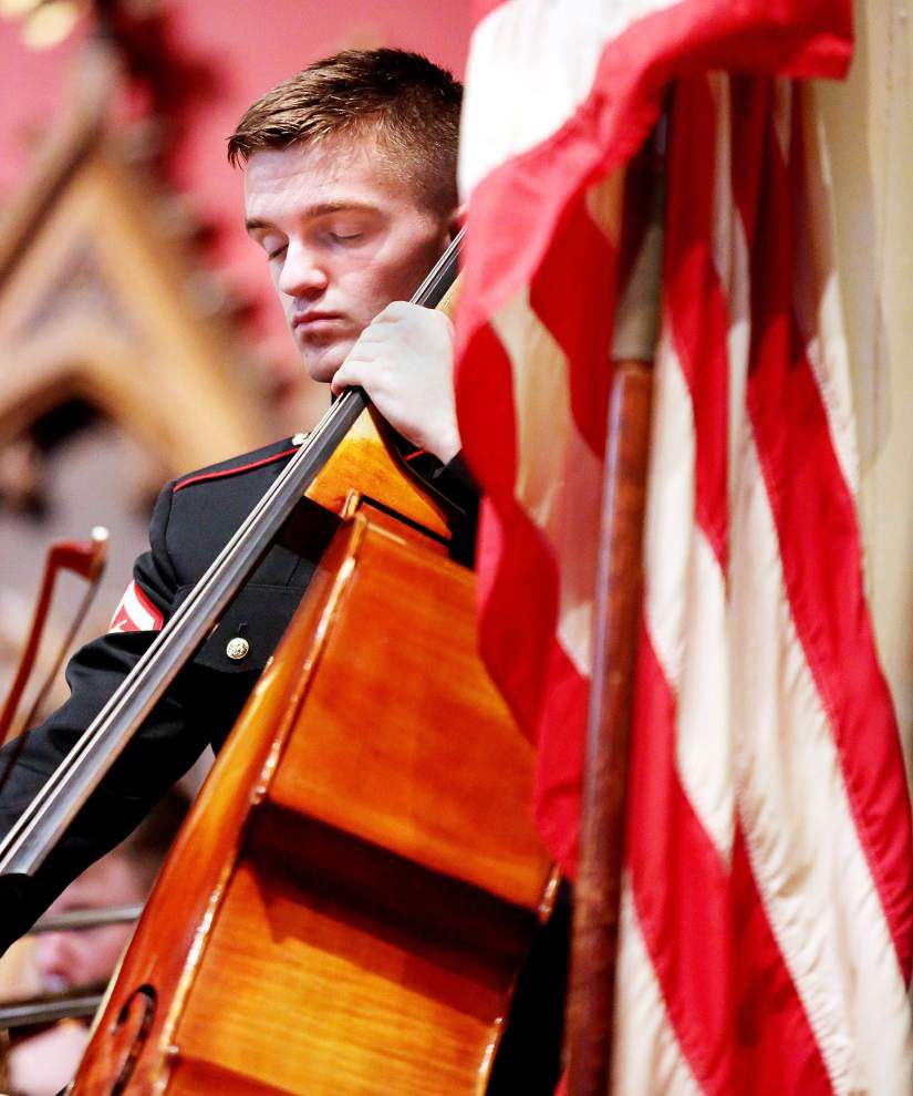 Marine Corps Band New Orleans presents patriotic music to celebrate Fourth of July _lowres