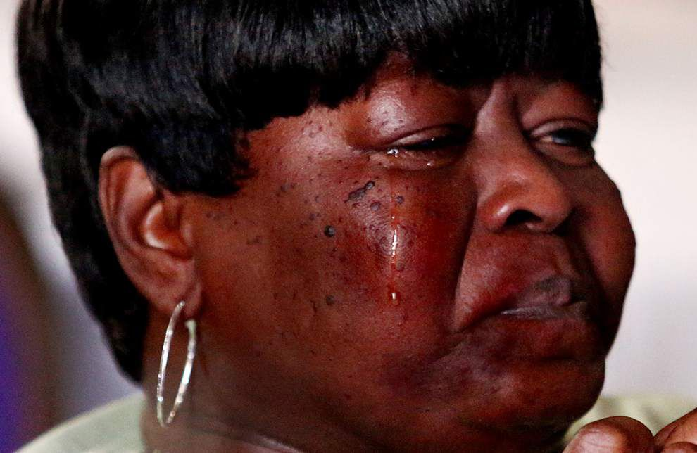 Mothers of slain children decry city's culture of violence _lowres