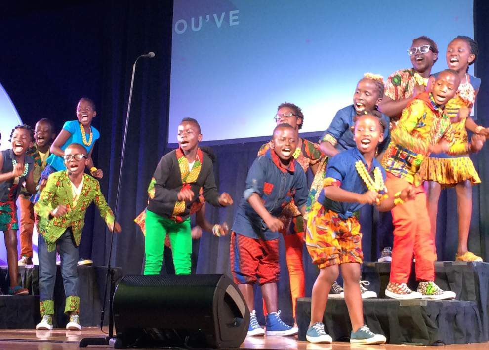 Watoto Children's Choir uplifts St. Francisville with performance _lowres