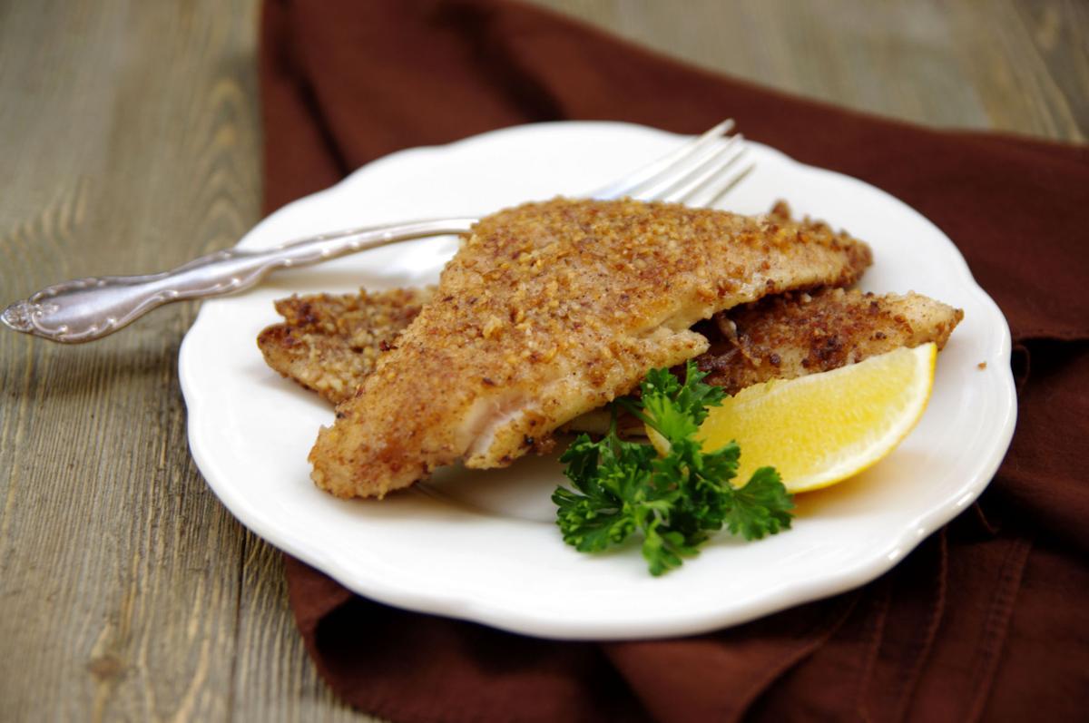 I Eat La.: Recipes for Pecan Crusted Catfish, Haricot ...