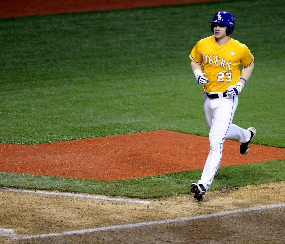Video: Fraley has big shot in LSU's 4-1 victory against Texas Southern _lowres