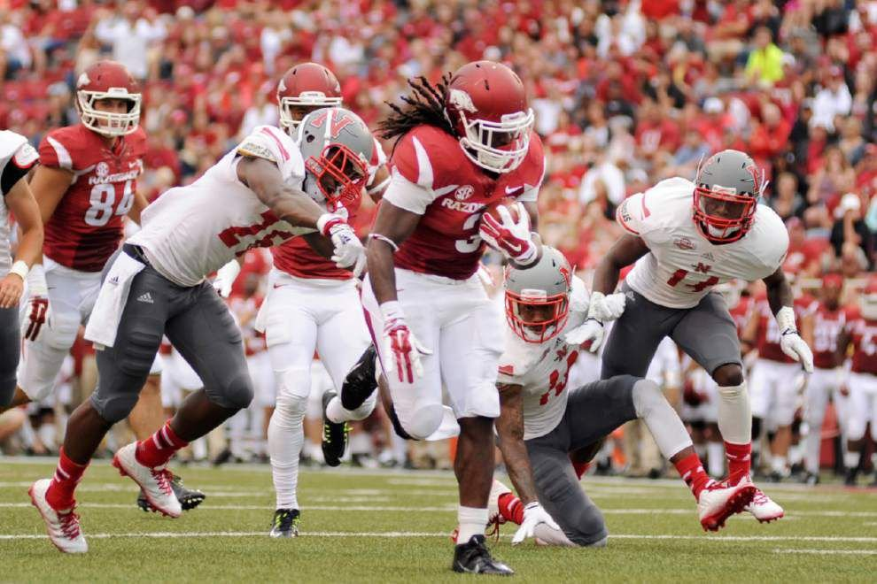 Favored Arkansas hopes to end SEC losing skid _lowres