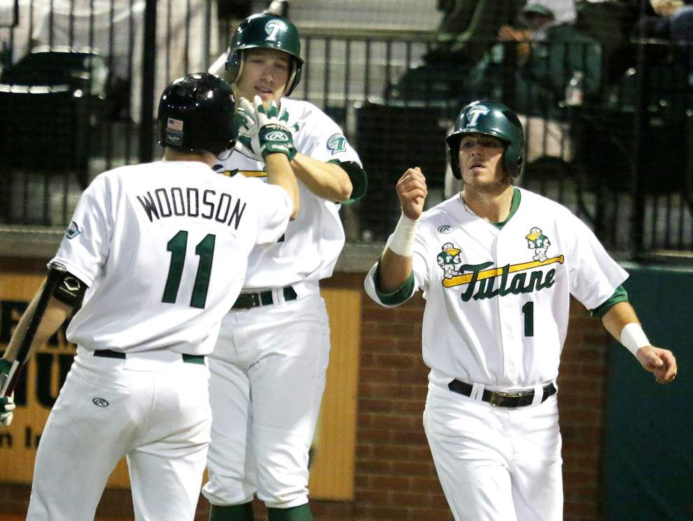 Alex Massey, Tulane knock out Nicholls State _lowres