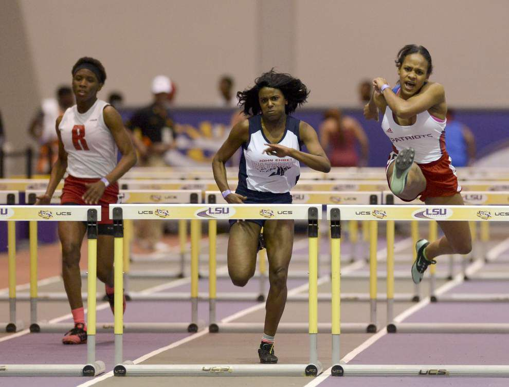 Monae Lewis keeps goals simple for Sugar Bowl meet _lowres