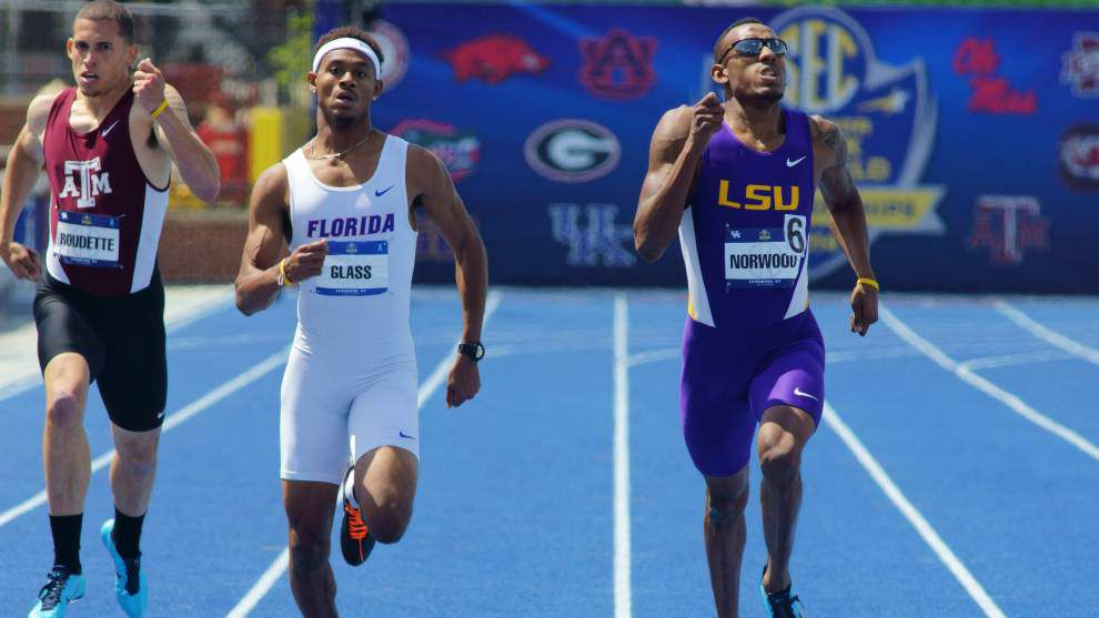 LSU athletes lead LSWA All-Louisiana track team _lowres