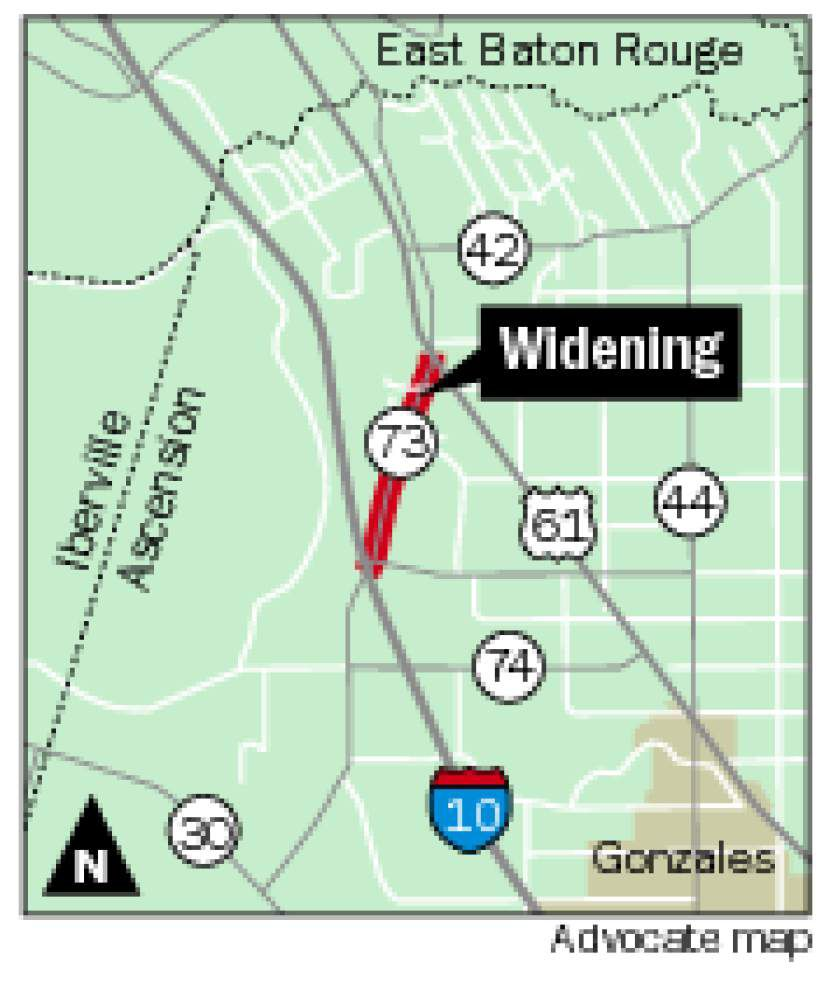 'Huffing and puffing,' contractor struggles with delays on La. 73 _lowres
