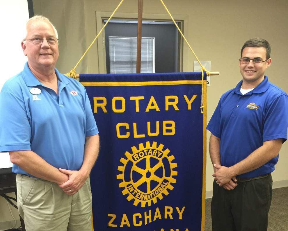 YMCA director speaks to Zachary Rotary _lowres