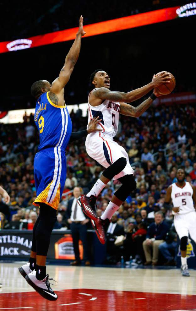 Hawks use balance to win showdown against Warriors _lowres