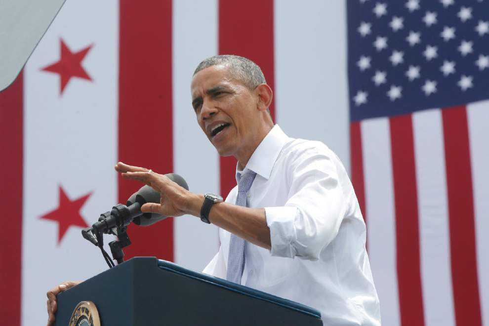 Obama on economy: 'We're making progress' _lowres