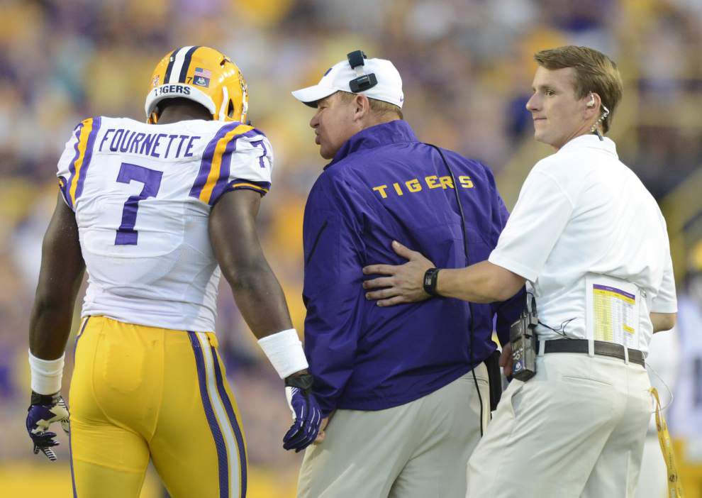 Video: LSU linebacker D.J. Welter glad to see Leonard Fournette score _lowres