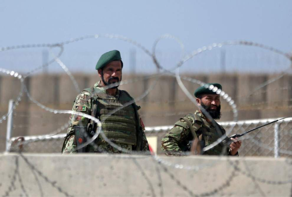 Afghan soldier kills US general, wounds about 15 _lowres