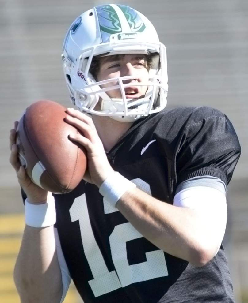 TULANE CAMP REPORT: Tanner Lee confident for fall _lowres