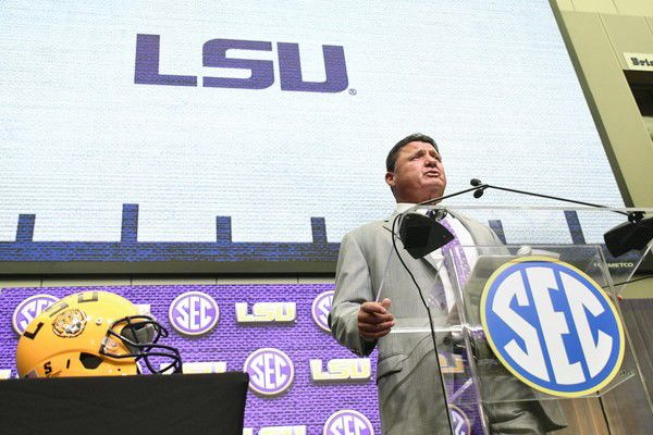 Rabalais: As he returns to media days, LSU's Ed Orgeron has gone from hot seat to hot (trendy)