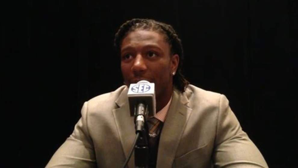 Video: University of Kentucky linebacker Bud Dupree, SEC Media days _lowres