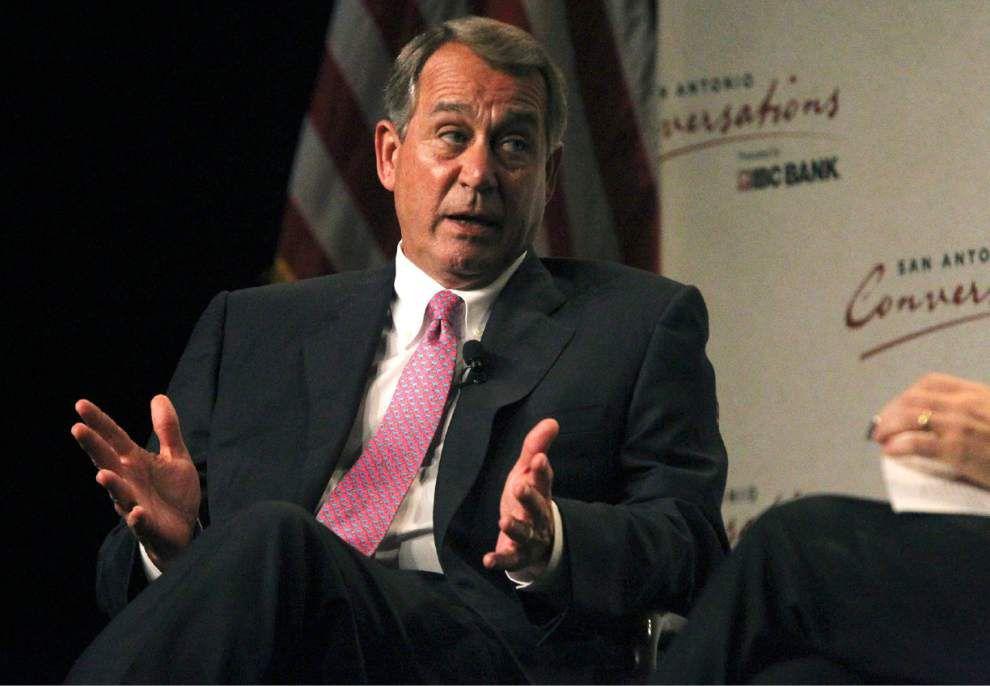 Boehner defends rejecting immigration measure _lowres