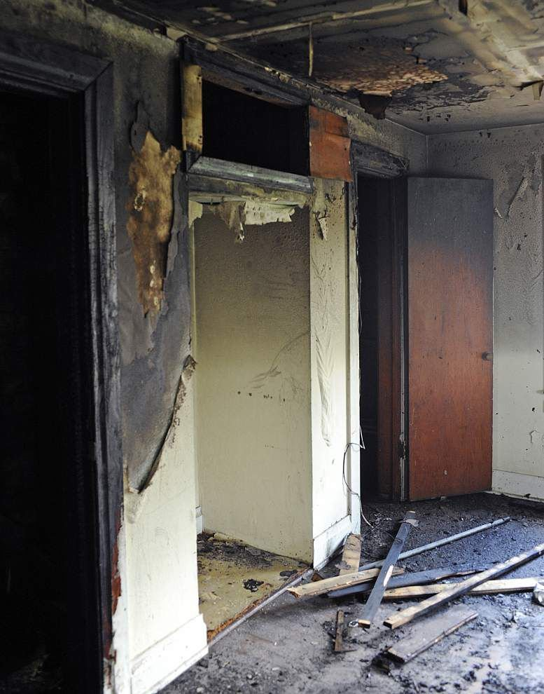 Another arson reported at vacant home in Lafayette, fire officials report _lowres