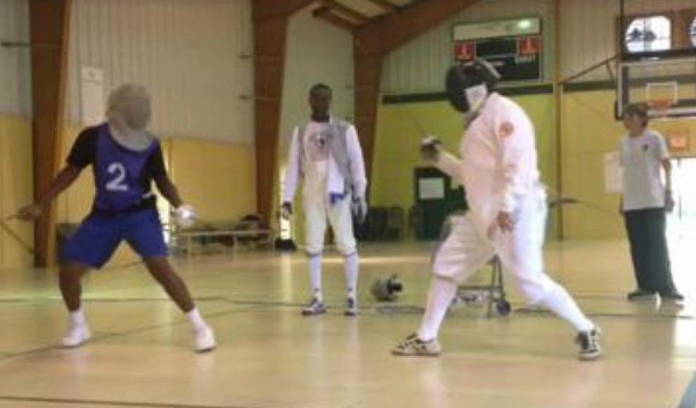 Video: Fencing at Mid-City BREC _lowres