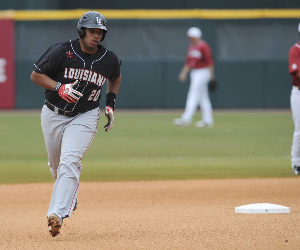 Freshman Gunner Leger shuts down Alabama as the Cajuns cruise to a 14-2 victory and a series win _lowres