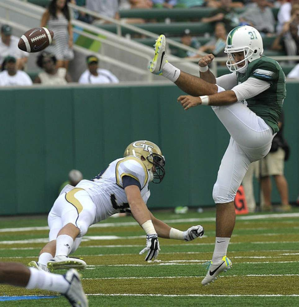 Lewis: Tulane has a fighting chance ... if special teams come around _lowres