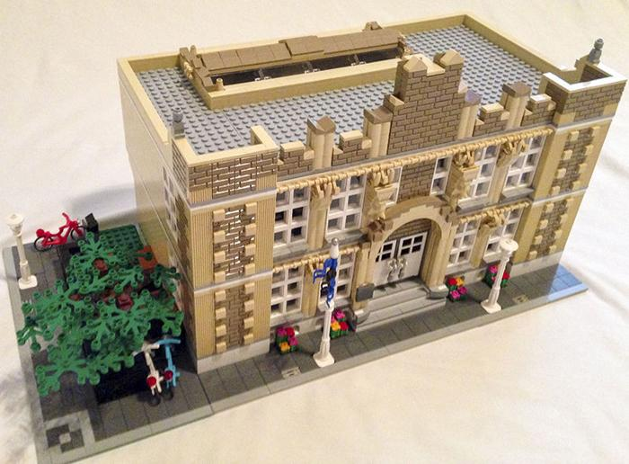 A&M student submits retro school design to Lego Ideas
