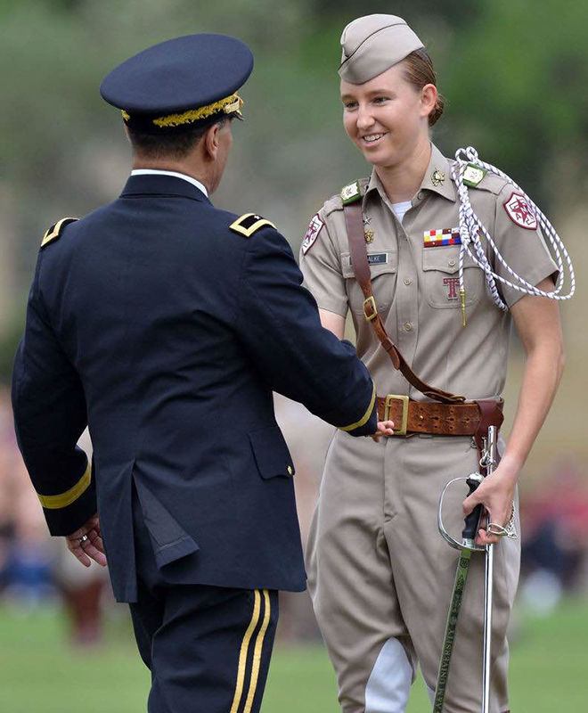 Cadets transfer ranks in annual Final Review