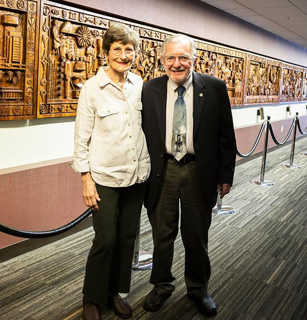MSC wood panels are one of the first records of A&M history